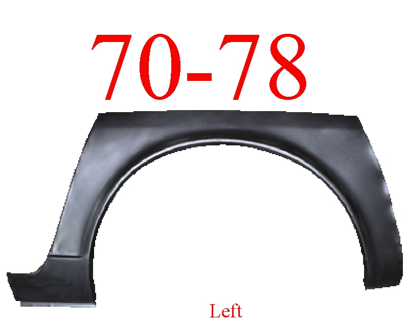 70-78 Datsun 240Z 260Z 280Z Left Wheel Arch & Dog Leg